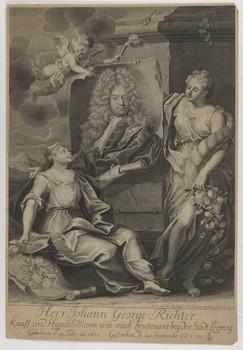 Bildnis des Johann George Richter