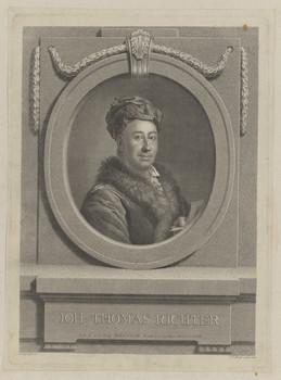 Bildnis des Ioh. Thomas Richter