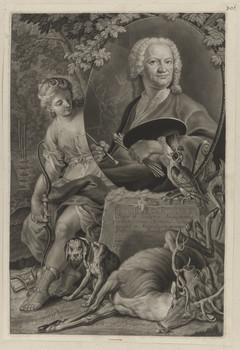 Bildnis des Ioh. Elias Ridinger