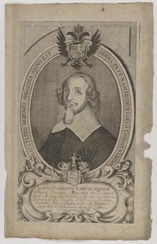 Bildnis des Isacus Volmarus de Rieden