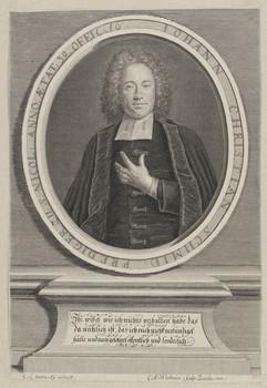 Bildnis des Iohann Christian Schmid