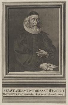 Bildnis des Sebastianus Schmidius