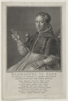 Bildnis des Hadrianus VI. Papa