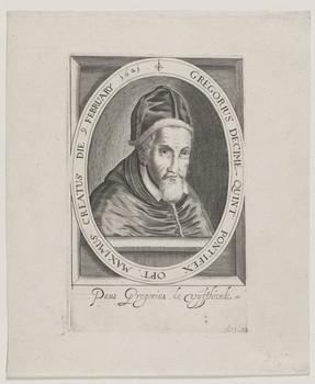 Bildnis des Gregorius Decime Quint