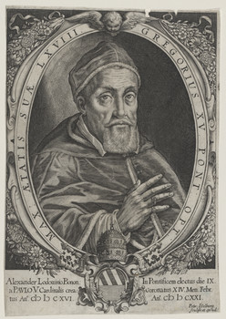 Bildnis des Gregorius XV.