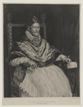 Bildnis des Papst Innocent X.