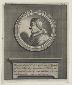 Bildnis des Benedict XIII.
