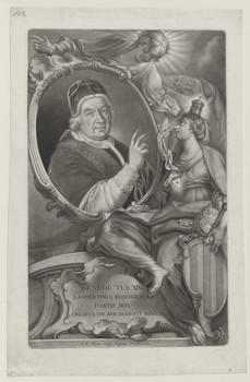 Bildnis des Benedictus XIV.