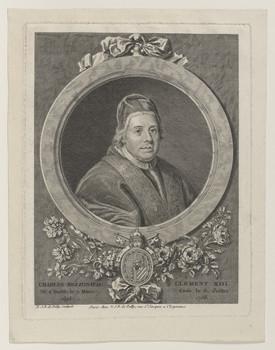 Bildnis des Papst Klemens XIII. (Carlo Rezzonico)