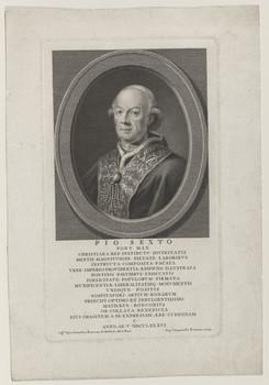 Bildnis des Pius VI.
