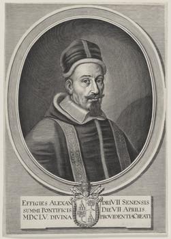Bildnis des Alexandrius VII.