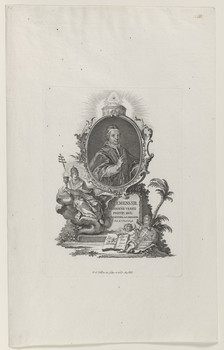 Bildnis des Papst Clemens XIII.