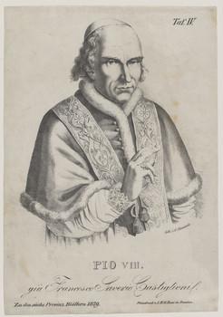 Bildnis des Papst Pio VIII. già Francesco Saverio Castiglioni