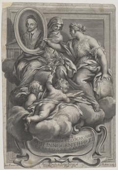 Bildnis des Innocentius XI.