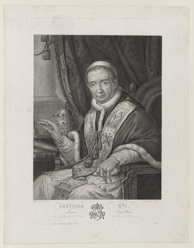 Bildnis des Grégoire XVI.