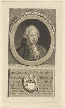 Bildnis des Iohannes Fridericus Eisenhart