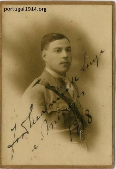 O Alferes João Malheiro de Souza e Menezes em 1918