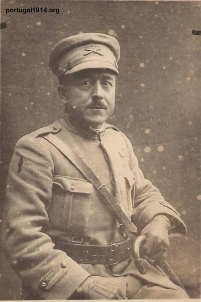 José Luís dos Santos, combatente da Grande Guerra