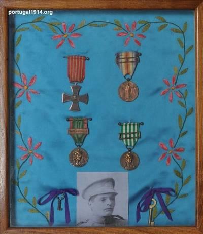 Condecorações de Cesário Francisco