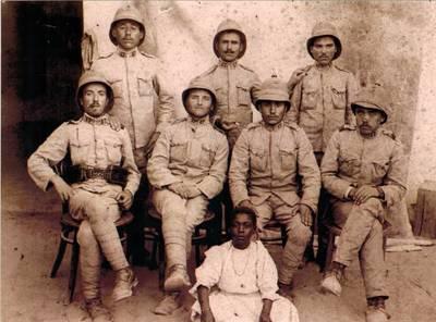 Joaquim Inácio do Pereiro e outros combatentes, em África