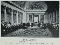 Grand Sanhédrin : first meeting of the Grand Sanhedrin of the Jews of France and Italy, called by Napoleon the First in Paris, February, 9, 1807
