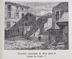 Première synagogue de Metz après le retour de l'exil