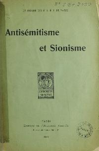 Antisémitisme et sionisme
