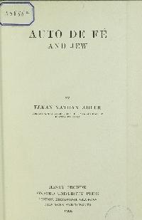 Auto de fé and Jew