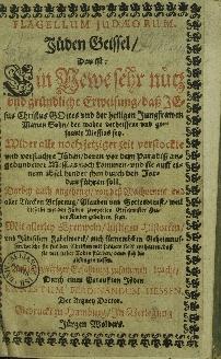 Flagellum Judaeorum : Juden Geissel