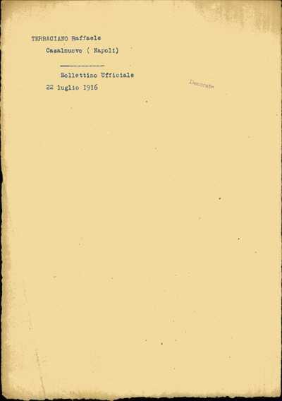 Terraciano Raffaele, Casalnuovo (Napoli)