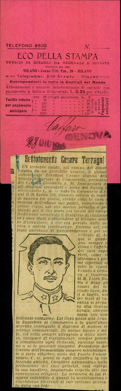 Terragni Cesare, Carpaneto d'Adda (Piacenza)