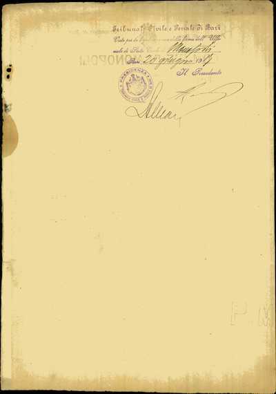 Terranova Nicola, Monopoli (Bari)