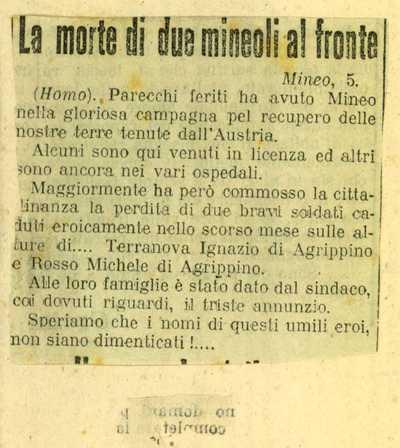 Terranuova Ignazio, Mineo (Catania)