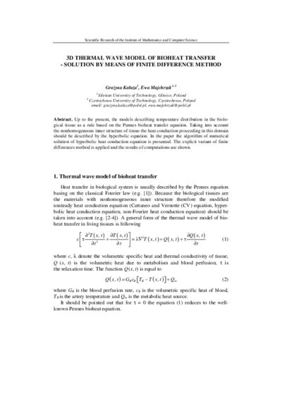 OMNIA - finite difference method