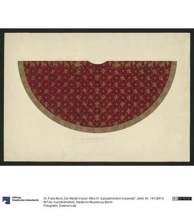 Der Mantel Kaiser Ottos IV. paludamentum imperiale