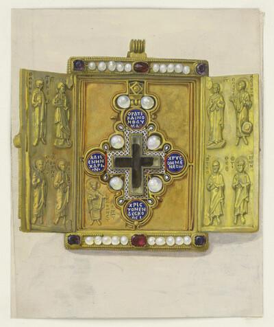 Das Brustkreuz des Kaisers Constantin des Grossen