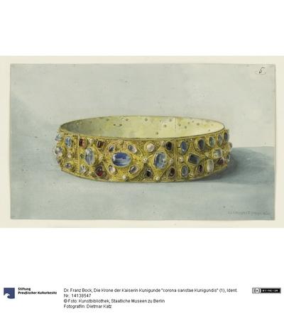 Die Krone der Kaiserin Kunigunde corona sanstae Kunigundis (1)