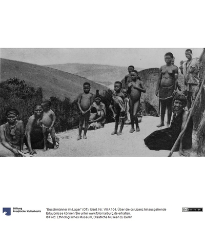 Buschmänner im Lager (OT)