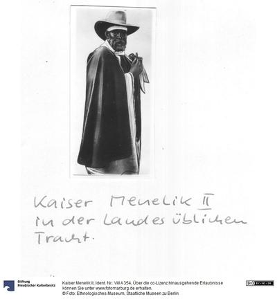 Kaiser Menelik II