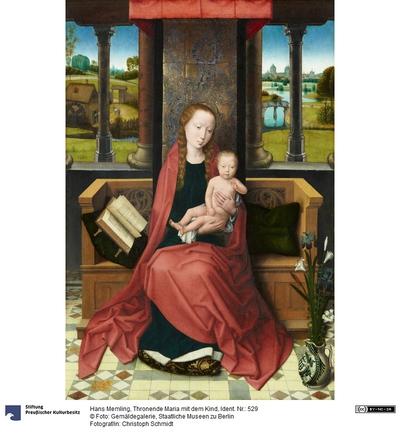 Thronende Maria mit dem Kind