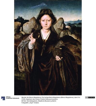 Die heilige Maria Magdalena (Mansi-Magdalena)