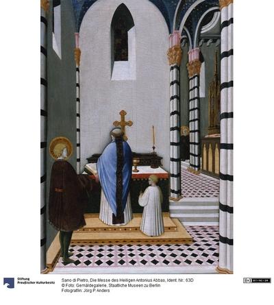Die Messe des heiligen Antonius Abbas