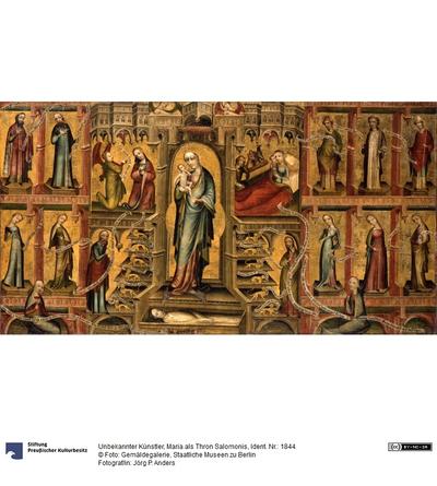 Maria als Thron Salomonis