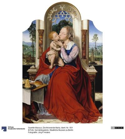 Die thronende Madonna