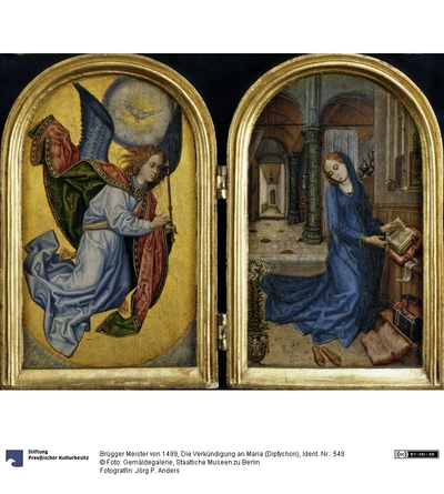 Die Verkündigung an Maria (Diptychon)