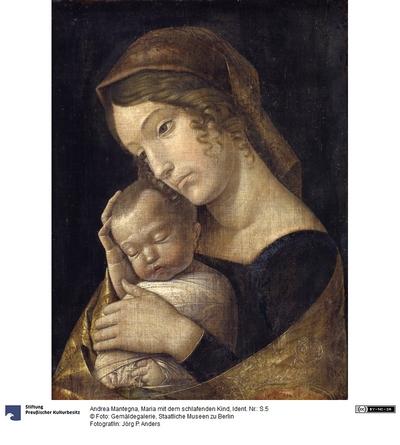 Maria mit dem schlafenden Kind
