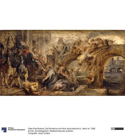 Die Einnahme von Paris durch Heinrich IV.