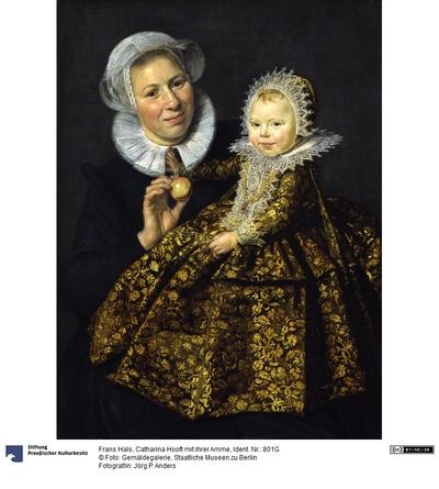 Catharina Hooft (1618-1691) mit ihrer Amme