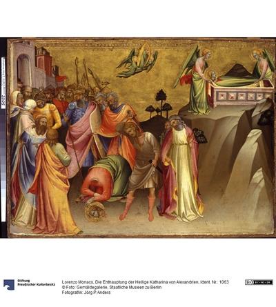 Die Enthauptung der heiligen Katharina von Alexandrien