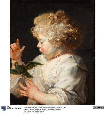 Das Kind mit dem Vogel